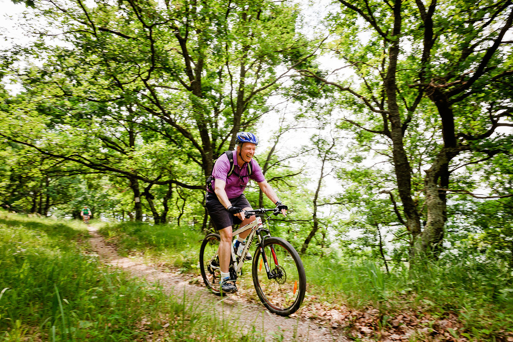 Cycling in the Transylvanian forests