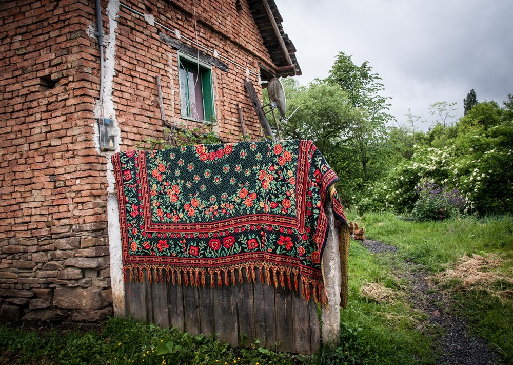 Beautiful textiles in Transylvania
