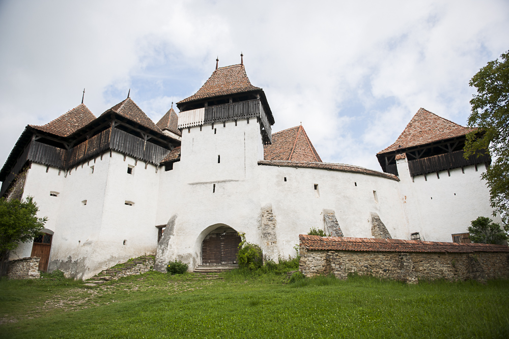 Viscri Fortified Church at the heart of the UNESCO World Heritage village.JPG