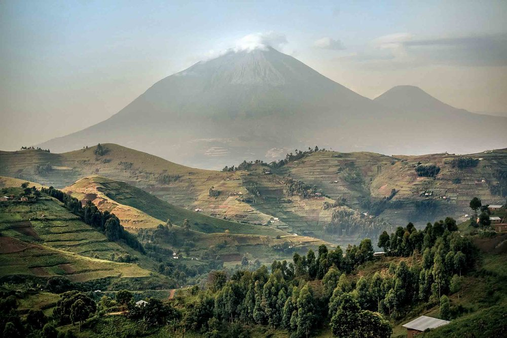 KIGALI TO CONGO  - 20-27 October 2018 - £1,995 per personAn extraordinary 220 kilometre journey on dirt roads through some of Africa's most awe-inspiring scenery, from Rwanda's capital to one of the continent's great lakes on its northern border with the DemocraticRepublic of Congo.