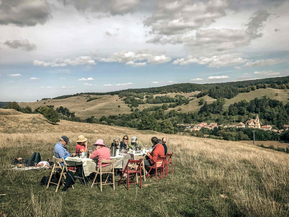 ENCHANTED TRANSYLVANIAN AUTUMN  - 21-26 September 2018 - £1,275 per personA 5-night cycling & walking journey through theenchanting Saxon villages of southern Transylvania.A wonderful time of year in the forests and meadows!