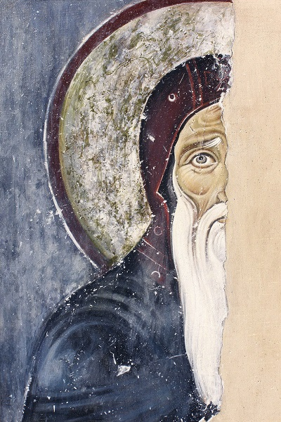 St Simeon Nemanja, monastery Mileseva, Serbia