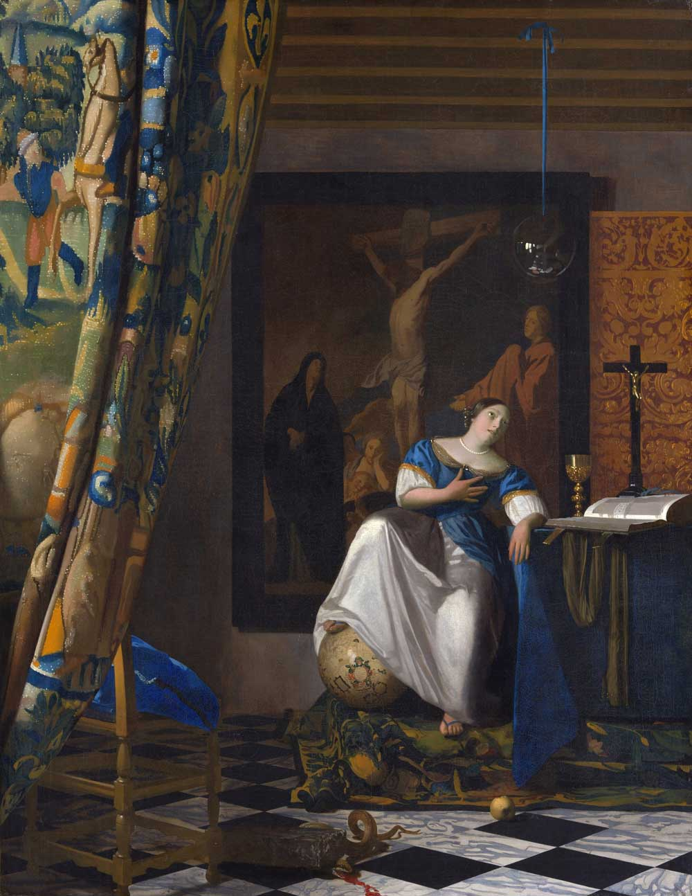 The Allegory of Faith - Vermeer