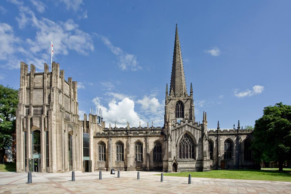 Image result for images sheffield cathedral