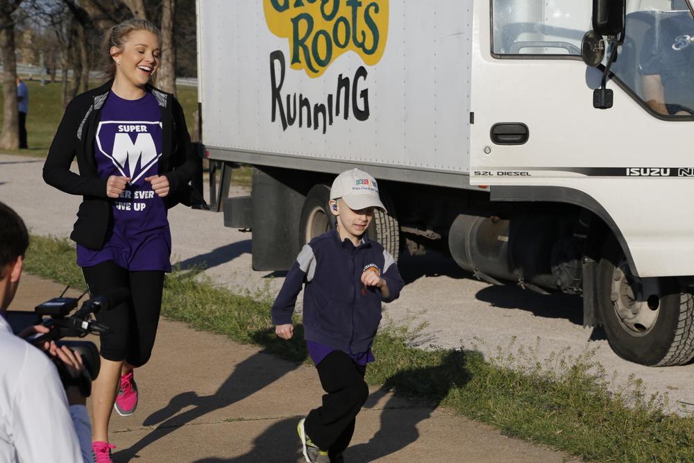 Come make a difference!    The Neuroblastoma 10K,5k & 1 Mile Fun Run/Walk    Donate   Register   Volunteer