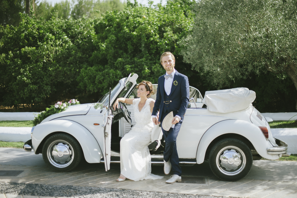 Atzaro Ibiza Wedding - Hair & Makeup Artist Louise Maxwell