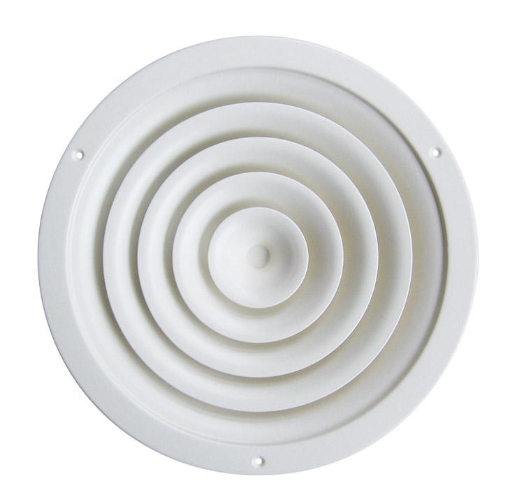 Circular Ceiling Diffusers Od2 Od10 De Air Diffusion