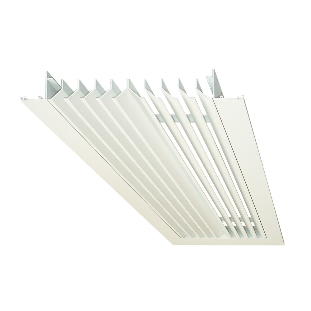 Flush Mount Linear Air Diffusers : Fixed blade linear ceiling diffusers lcd — air diffusion