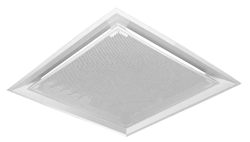 Drop Plaque Perforated Face Ceiling Diffuser Dpp Air