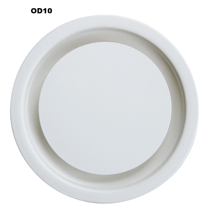 Exceptional Circular Ceiling Diffusers (OD2/OD10/DE)