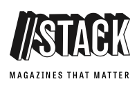 RA's interview with Stack Magazines  -      Link