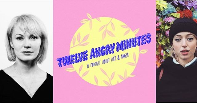 The first episode of Twelve Angry Minutes is here 🎧 Artist Jesse Jones is on the show talking to @roisin_agnew_ about her piece for the Venice Biennale, Tremble Tremble, the politics in her art, and #repealthe8th as a modern day witch trial! She was woke before the word existed, an amazing woman 💕 12AM comes out every couple of weeks. Subscribe to us on iTunes it really helps us! Link to episode in bio ☝🏼