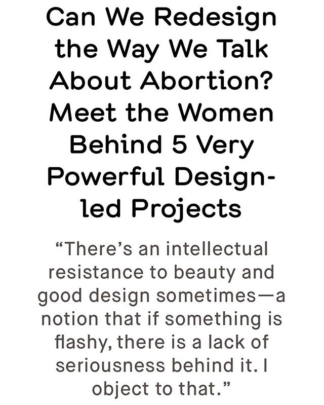We were honoured to be interviewed by The American Institute of Graphic Arts @aigaeyeondesign about our Fight Back issue and designing for #repealthe8th Our editor/cd @roisin_agnew_ is there quoted in the subhead, and the other projects profiled are amazing. Link to the article in bio✊🏼Copies still on sale online in our shop 💪🏼#fightback