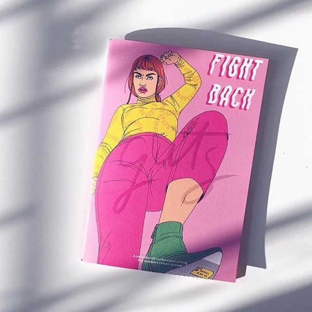 Tfw your bf buys you a pro choice mag while he's visiting Dublin 💅🏻Thx for the 📷 @emiloue_