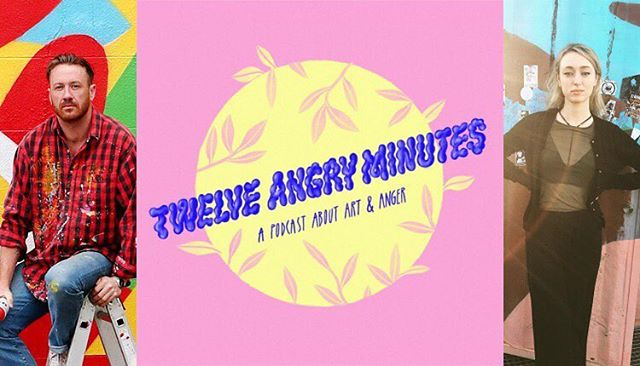 🎧💅🏻New episode of Twelve Angry Minutes is here💅🏻🎧 Stoked to have @maserart on the podcast with @roisin_agnew_ this week with some candid talk about graffiti, finding politics, his discomfort with anger and his own struggles with chronic stress disorder. For his 12 minutes Al talks about the dehumanising of Dublin's homeless. It's a winner ⭐️Link in bio ⭐️