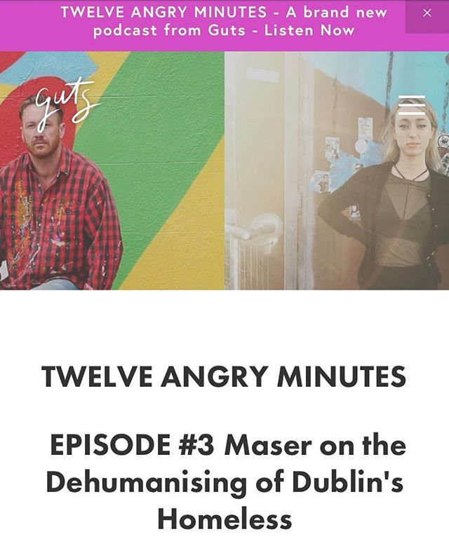 """I don't want to project that bad energy out because I think there's enough negativity out there as is"" @maserart on the new Twelve Angry Minutes episode out this week 👂🏼🎧link in bio🎧👂🏼"