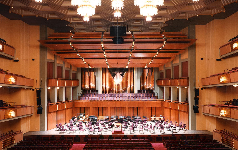 Kennedy Center Floor Plan Concert Hall Thefloors Co