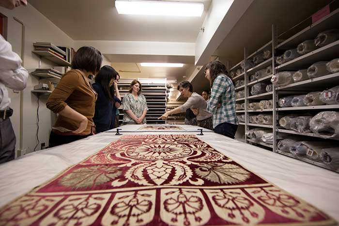 In order to safely transfer the Textile Museum's collection to its new home, conservators intend to temporarily freeze the more than 19,000 textiles and carpets