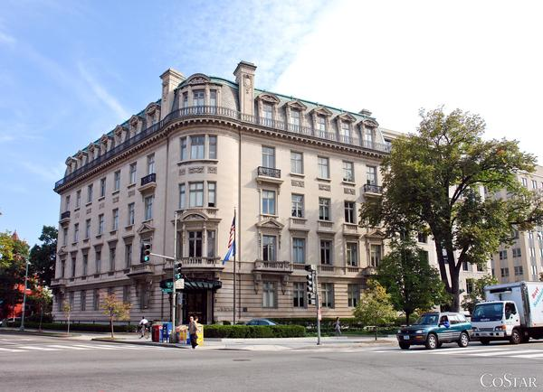 The American Enterprise Institute will launch a $40 million renovation of the former National Trust for Historic Preservation property at Dupont Circle.