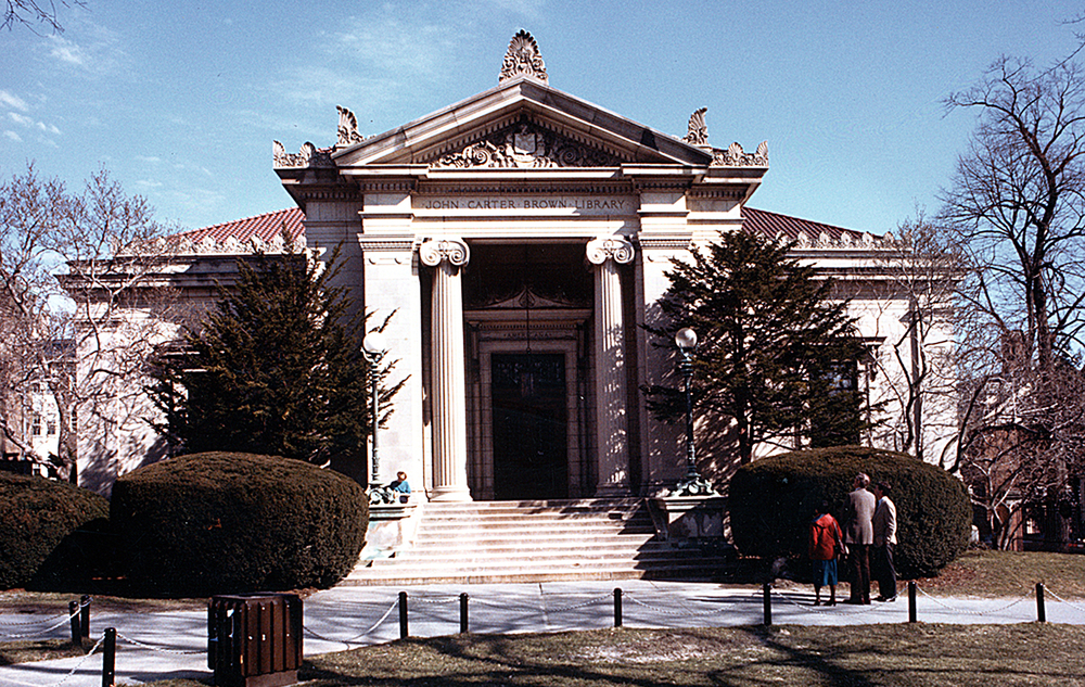 John Carter Brown Library    1995  Classical America - The Arthur Ross Award  1993  AIA|DC Chapter Design Award for Historic Resources  1991  Providence (RI) Preservation Society - Citation of Achievement