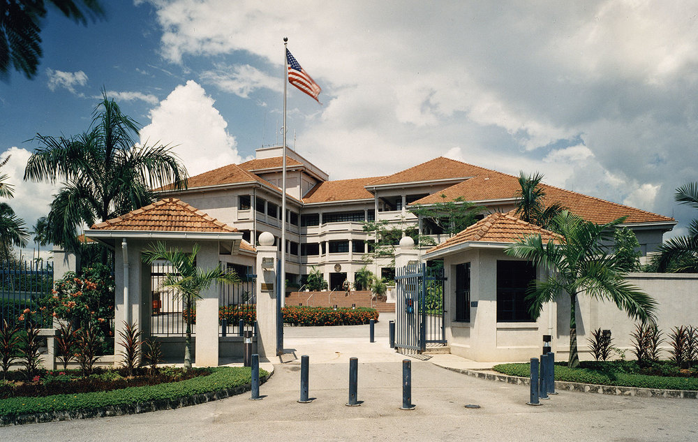 US Embassy Office Building, Malaysia    1988  Federal Design Achievement Award  1985   AIA|DC Chapter     Design Award for Architecture  1983    Mid-Atlantic Regional AIA Awards Program