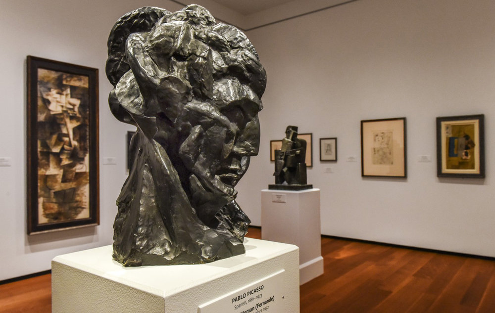 "Pablo Picasso's ""Head of a Woman."" (Bill O'Leary/The Washington Post)"