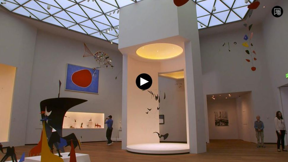 Click for Video - WETA: National Gallery of Art East Building Reopening