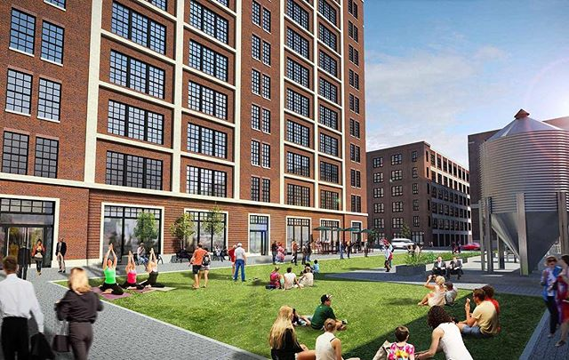 In the news: United Properties has broken ground on The Nordic, a 385,000-square-foot, mixed-use development project in Minneapolis' North Loop neighborhood. See link in profile for more information.  Lead Architect: Hartman-Cox Architects⠀ Associate Architect: LHB Architects⠀ ⠀ #commercial #mixedused #architecture #minneapolis #northloop