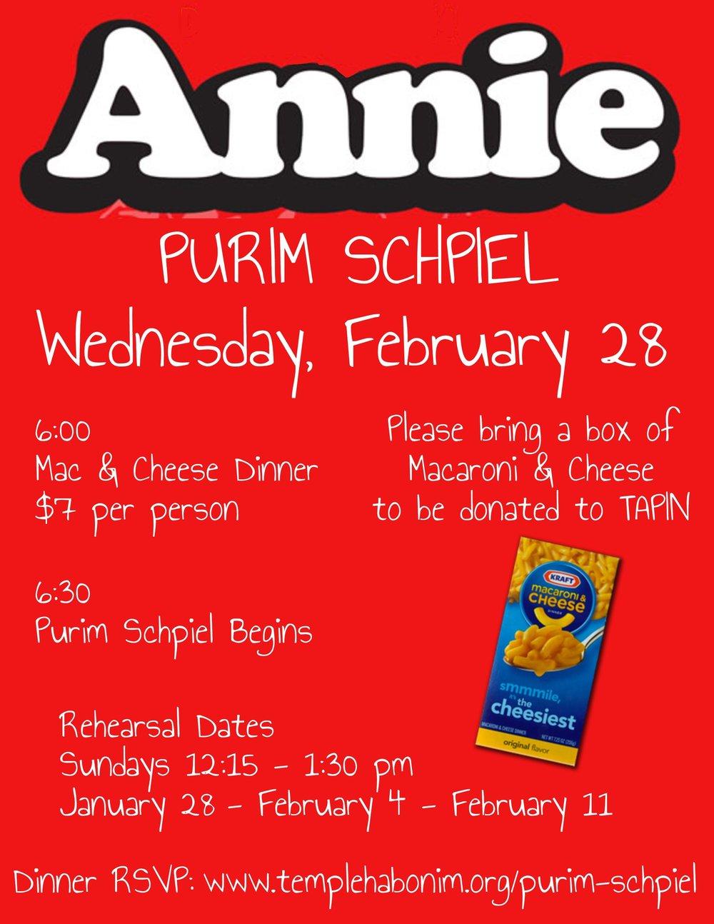 Purim Schpiel Flyer (Annie) FINAL.jpg