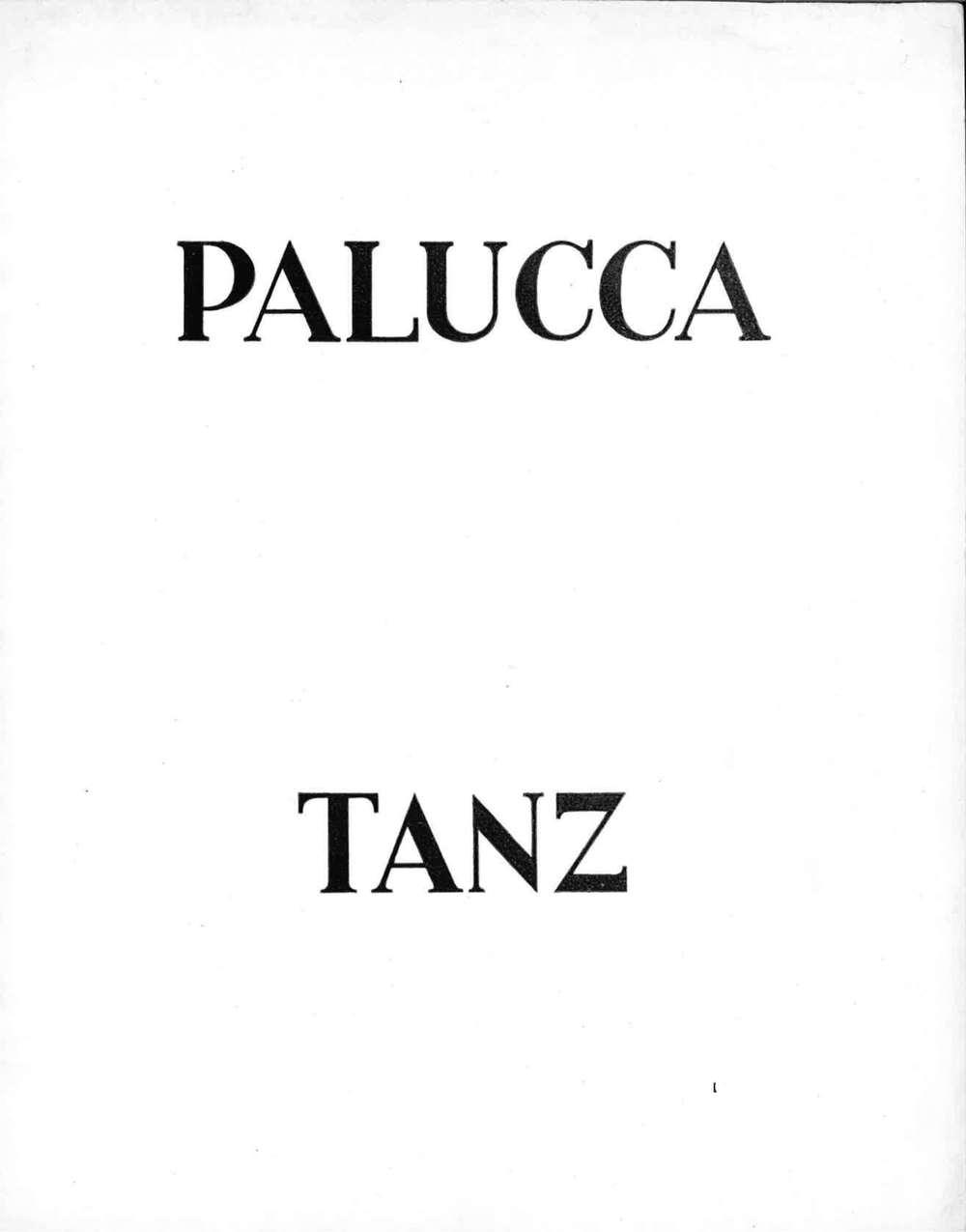 Palucca Tanz, Prospekt III, 1925/26, Dresden 1926 mit Kurztext von Klee (S. 4) ©Zentrum Paul Klee, Bern, Bildarchiv  Download