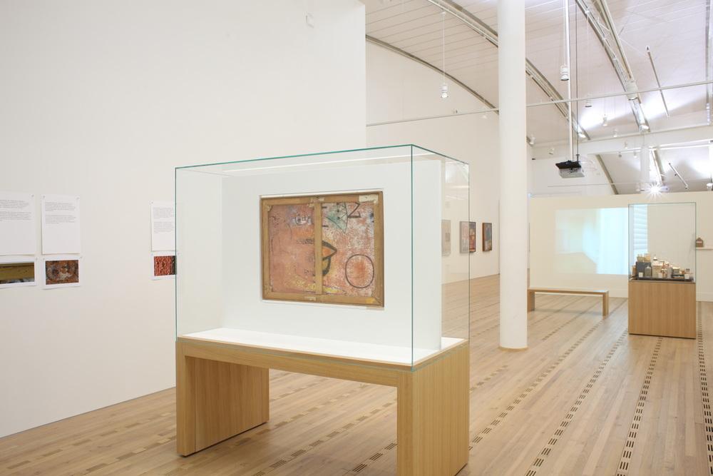 Abb.2: Paul Klee,  Glas-Fassade , 1940, 288 (verso),Zentrum Paul Klee,Ausstellung »Paul Klee. Bewegung im Atelier; (13.09.2008 -18.01.2009) © Zentrum Paul Klee, Bern, Bildarchiv