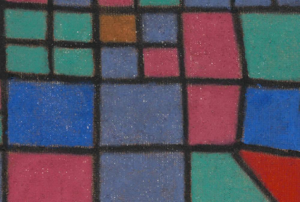 Abb. 4:Paul Klee,Glas-Fassade, 1940, 288,Detail © Zentrum Paul Klee, Bern, Bildarchiv