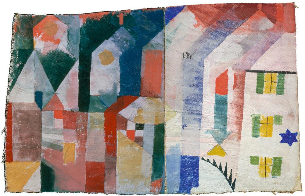 Paul Klee, Rekonstruktion von 1920, 136 und 1920, 137 © Osamu Okuda, Digiboo