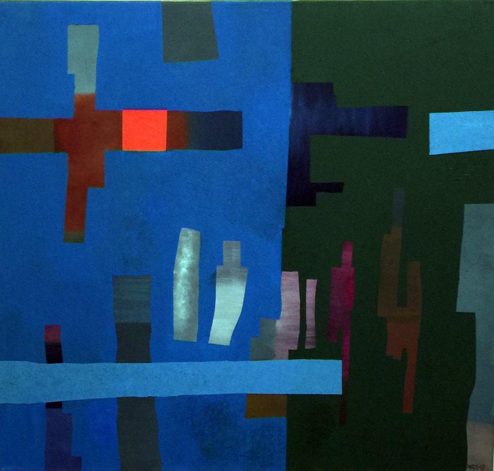 Fritz Winter Mit Raumteilen 1968 Öl auf Leinwand 135,0 x 145,0 cm Inv. Nr. HST 1328 WV Nr. 2649 © Fuchs