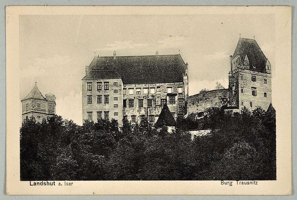 Abb.62 Ansichtskarte von Paul Klee an Felix Klee, 13.04.1916, Zentrum Paul Klee, Bern, Schenkung Familie Klee © Zentrum Paul Klee, Bern, Bildarchiv