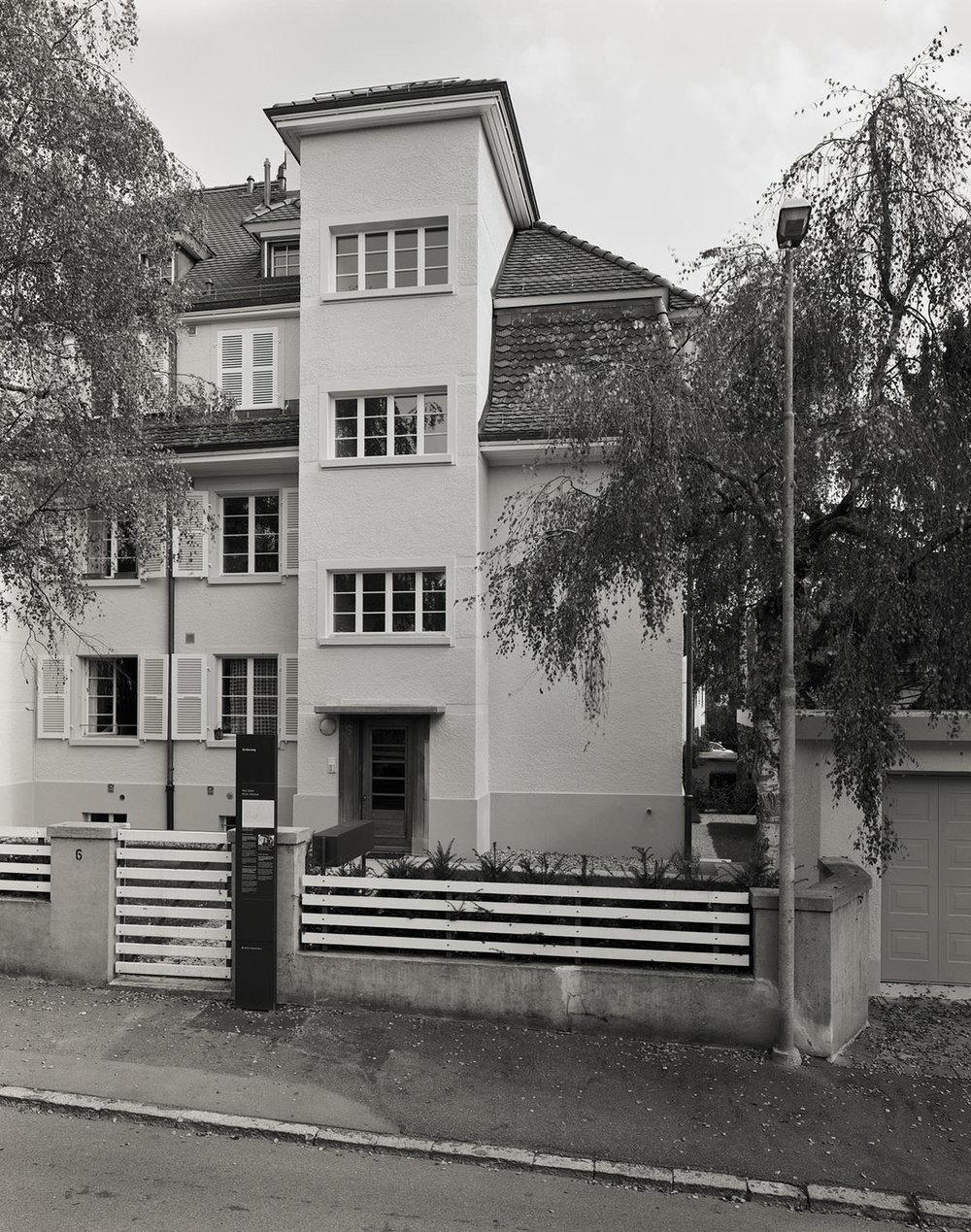Abb.1  Wohnhaus von Paul und Lily Klee am Kistlerweg 6 in Bern , 2005, Fotograf: Dominique Uldry ©Bern: Dominique Uldry