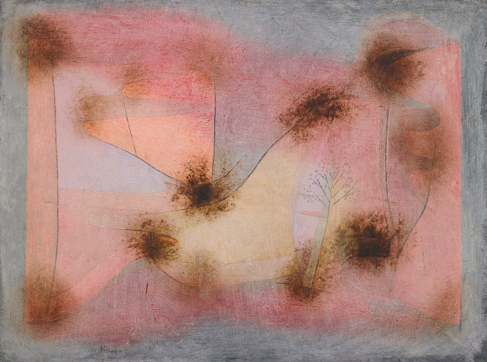 fig. 1 Paul Klee,  harte Pflanzen  [Hard Plants], 1934, 212 , oil and watercolour on cardboard, 41,2 x 55,2 cm, The Minneapolis Institute of Arts, Gift of Mr. und Mrs. Donald Winston, © The Minneapolis Institute of Arts