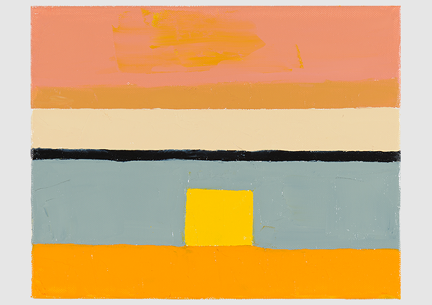 Etel Adnan, Adnan, Ohne Titel / Sans titre / Untitled, 2010, Öl auf Leinwand / Huile sur toile / Oil on canvas, 24 x 30 cm, Courtesy the artist and Sfeir-Semler Gallery, Hamburg / Beirut