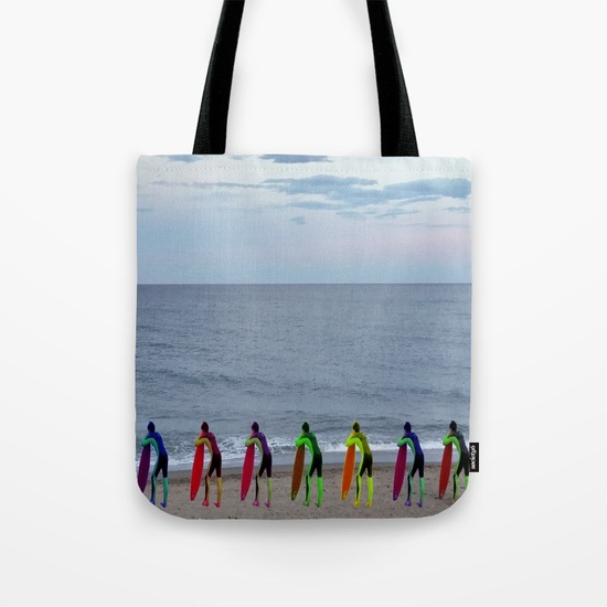 "I called this image ""Patient Surfers waiting in line"". To see this and many more products, click here."