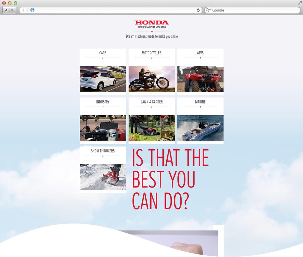 Honda Portal Sarah Ramsey