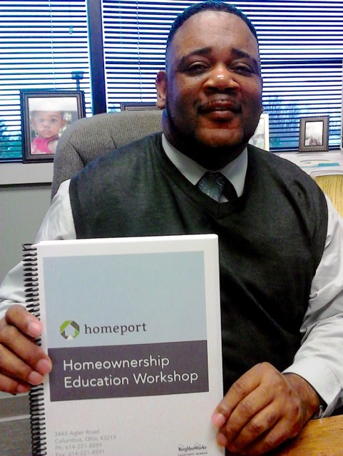 Homeport Housing Advisor Kerrick Jackson