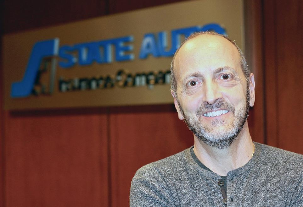 State Auto Insurance Chair and CEO Michael E. LaRocco