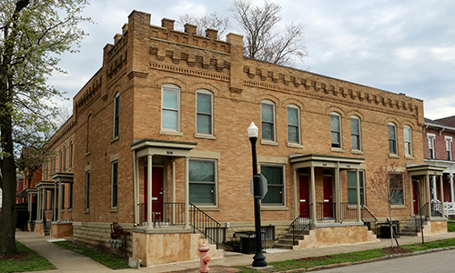 Victorian Heritage property in the Short North was revitalized with historic tax credits.