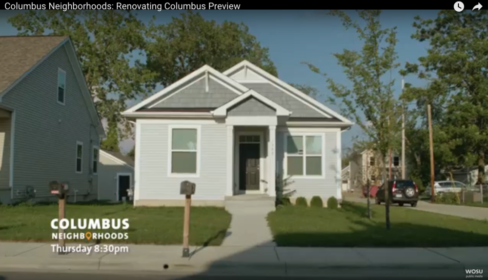 Tune in 8:30 p.m. on Feb. 4 to watch WOSU-TV's popular  Columbus Neighborhoods  show focus on the revitalization of the American Addition subdivision and the role Homeport is playing building new homes like the one above.