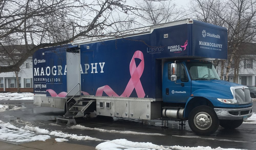 OhioHealth truck at Marsh Run
