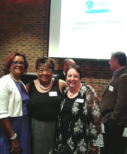 Laverne Price, Maude Hill and Carol Ventresca