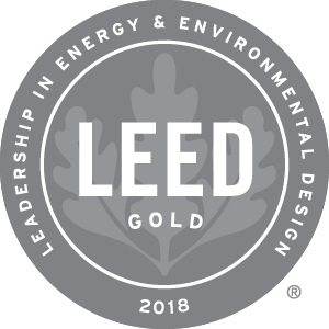 Hamilton Crossing, a Homeport senior community, received LEED Gold Certification in 2018.