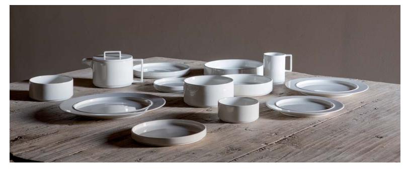 Nordic porcelain series