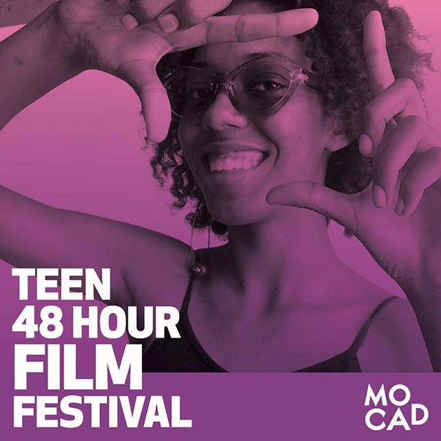 WO is sponsoring Mocad's first ever 48 Hour Teen Film Festival! 🎥 . . . The challenge: make a short film in one weekend – Sept. 21-23, 2018.  In preparation for the festival, @mocadetroit will be hosting a free technical workshop this Saturday, Sept. 8 from 4-6 pm. Followed by an editing workshop Sept. 15 12:30-3:30 pm.  Film screening will take place Sept. 25 at The M@dison Building! Grab your crew and sign up!  #teen #filmmaking #filmfestival #48hourfilmproject #mocad48 #wodetroit