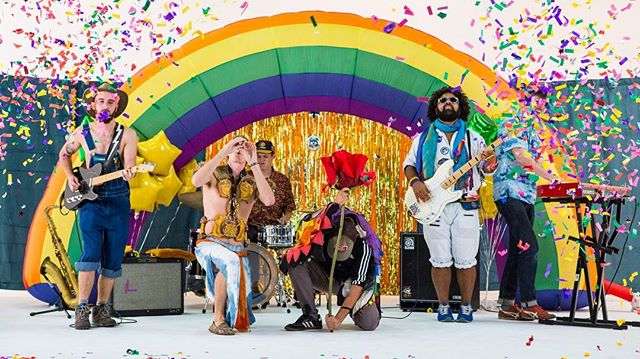 Episode 4 of #UNTOLD is packed with color and hilarity! Tune in Monday as we feature @joehertler and the Rainbow Seekers! #bts #wodetroit 🌈🎤🎸🎷🥁🕺
